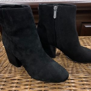 Sam Edelman Black Suede Boots 7.5M